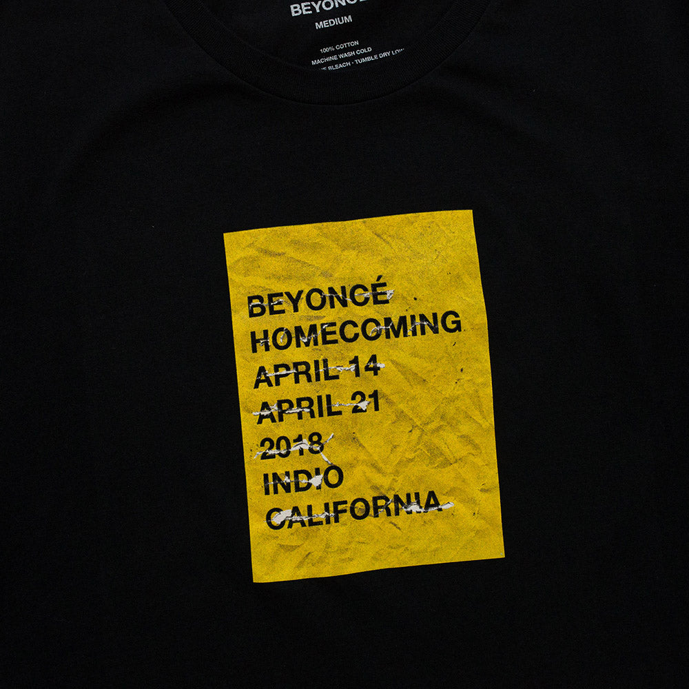 Homecoming Wheatpaste Tee