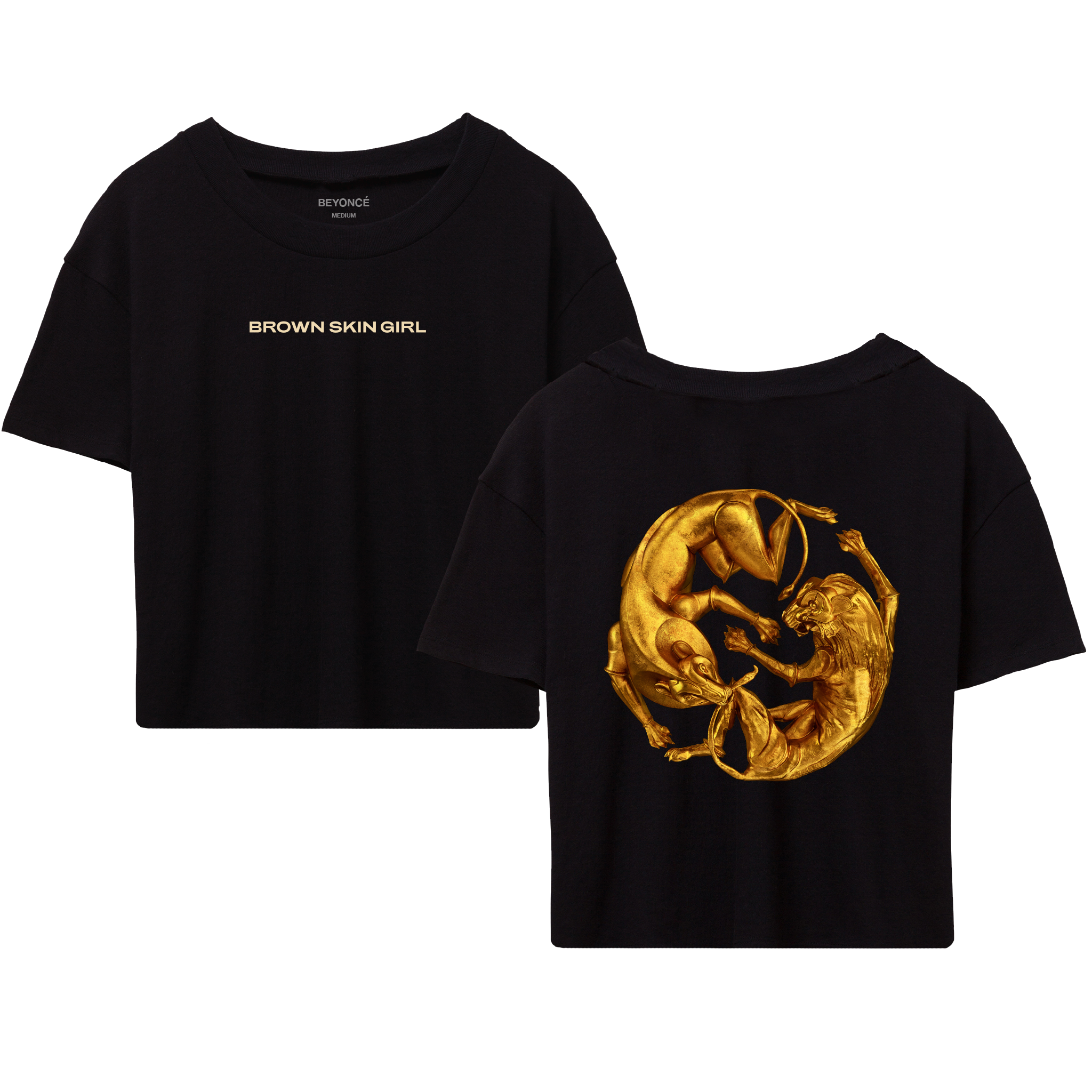 "Exclusive ""Brown Skin Girl"" Cropped Tee + Digital Album Bundle"