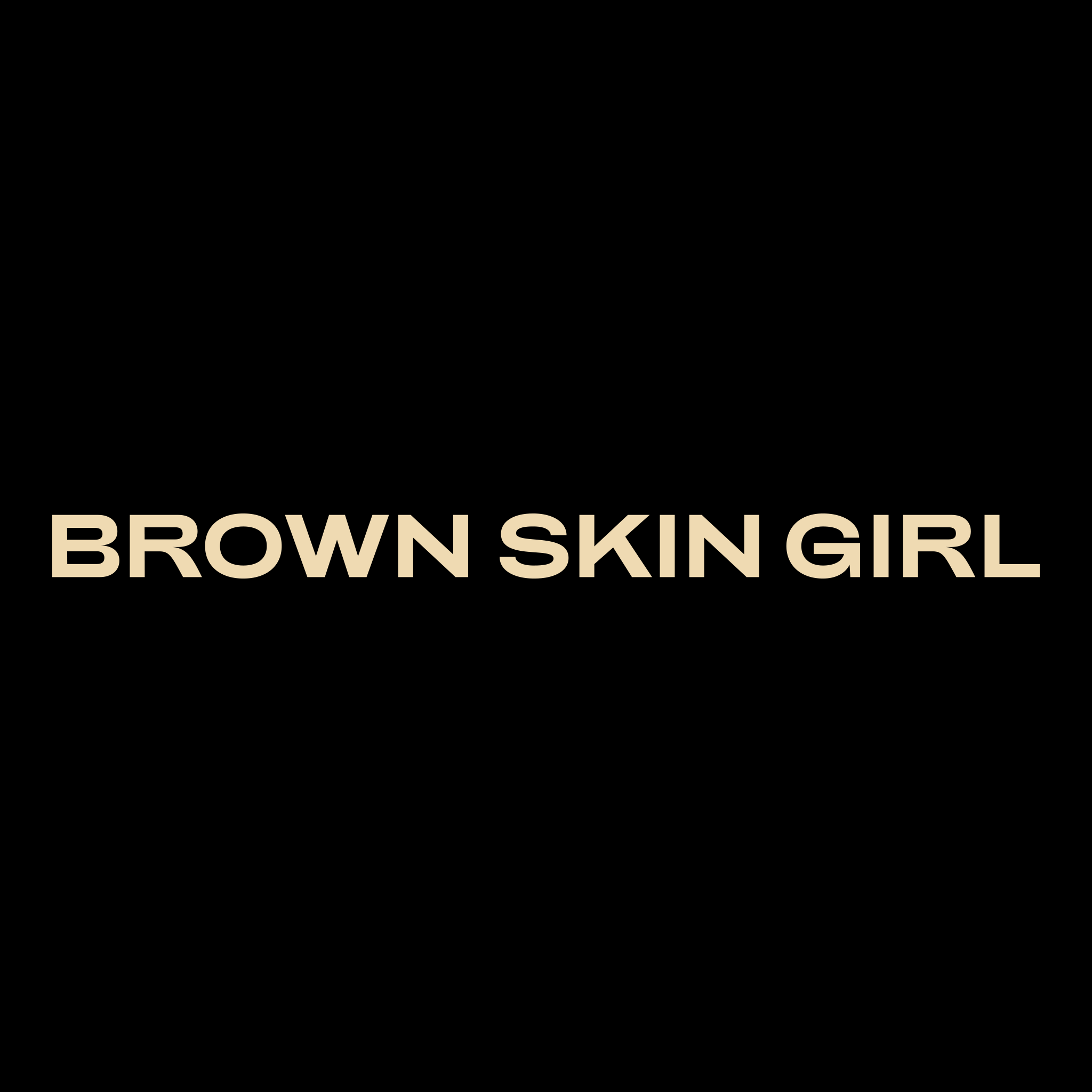 Brown Skin Girl Cropped Tee