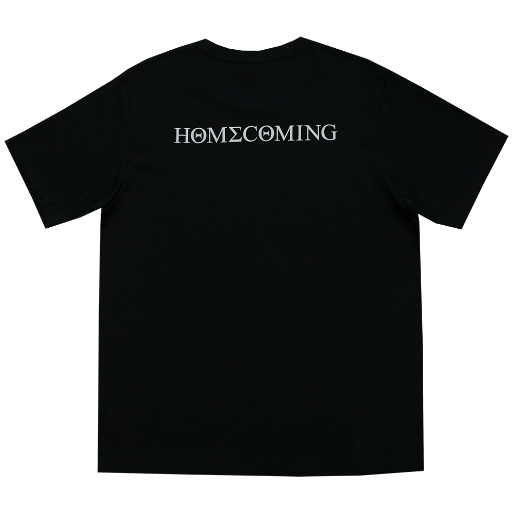 Homecoming Collage Black Tee