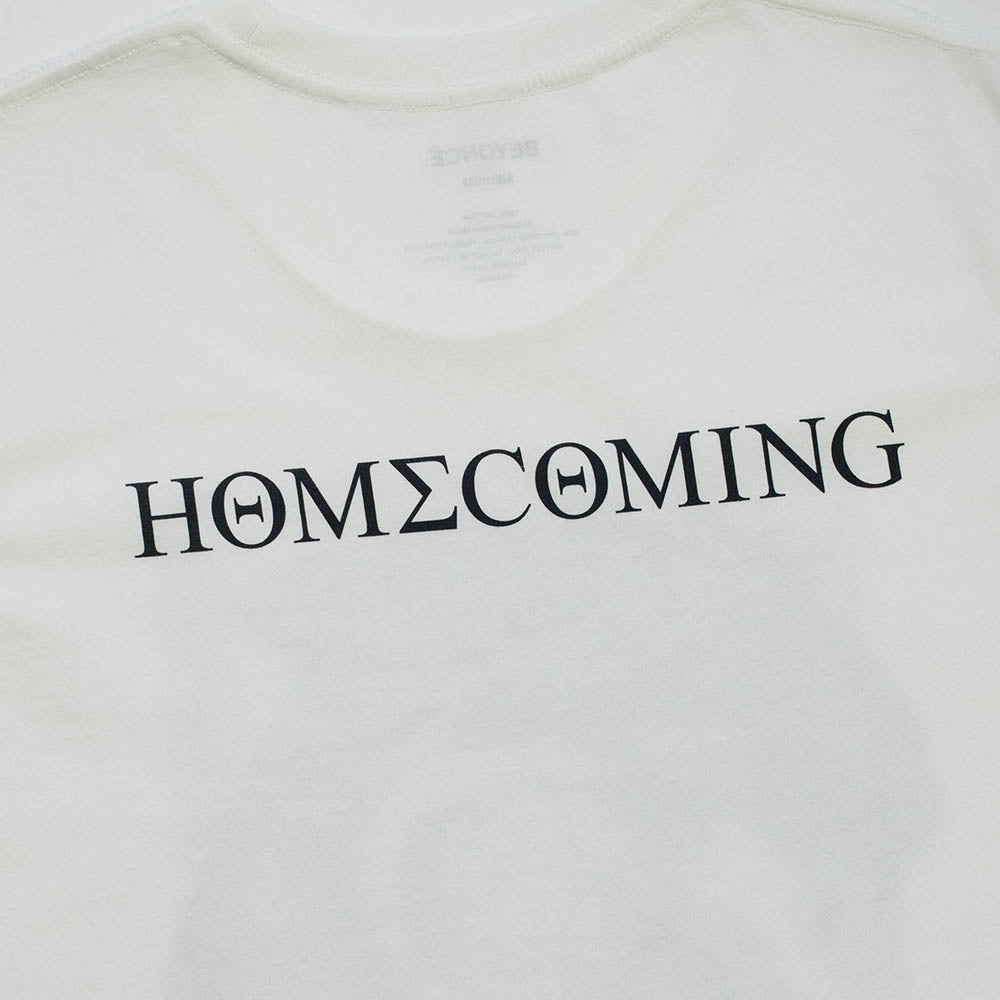 Homecoming Collage White Tee