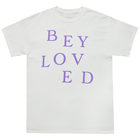 Beyloved White Jumble Tee