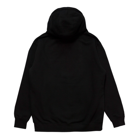 Crest Patch Black Pullover Hoodie