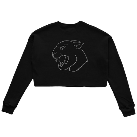 Homecoming Panther Cropped Sweatshirt