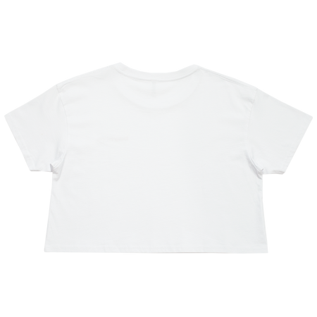 Beyhive White Cropped Tee