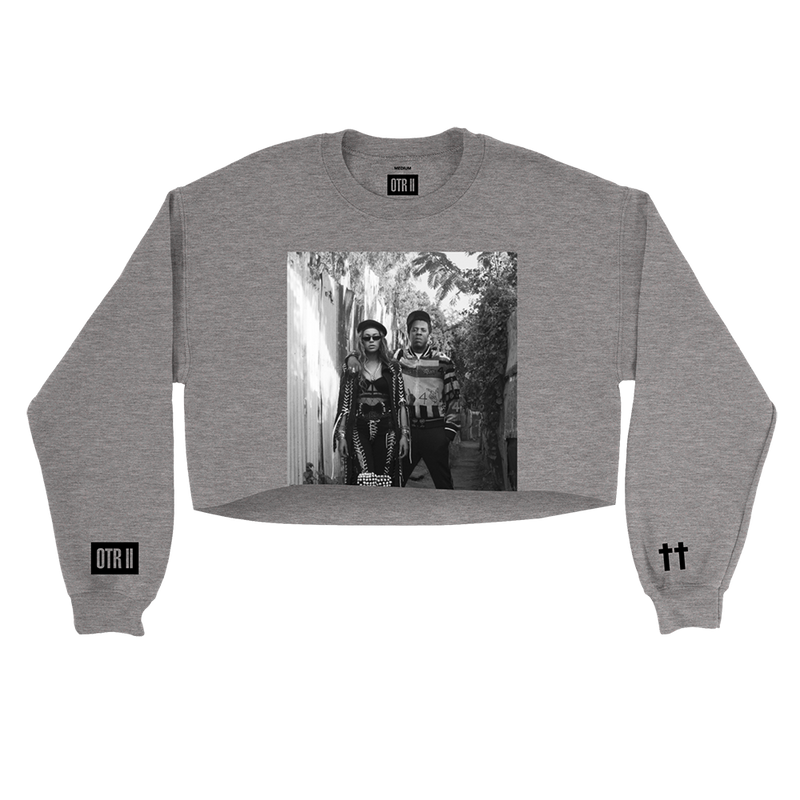 The Queen & Gangster Cropped Pullover Crewneck