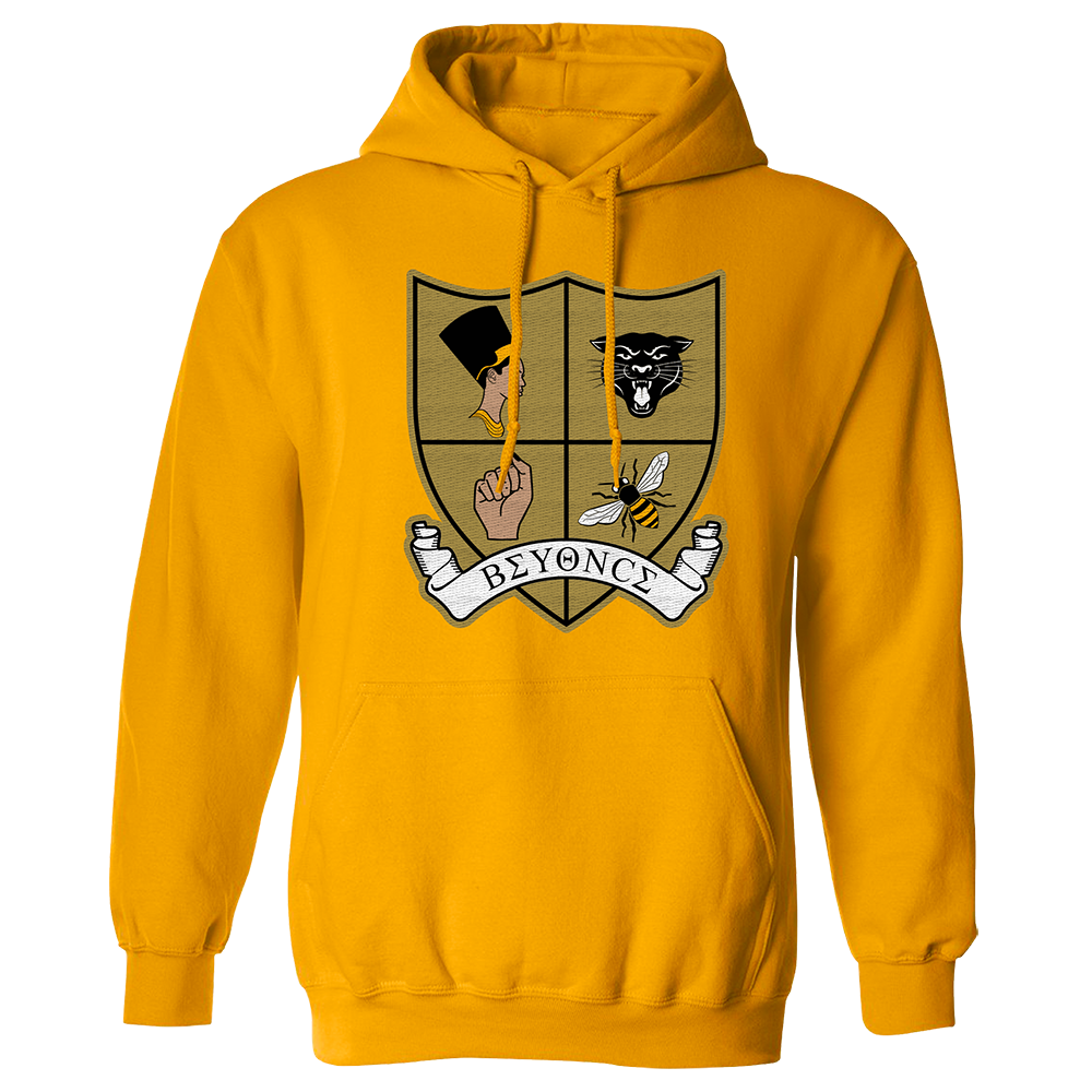 Crest Patch Pullover Hoodie