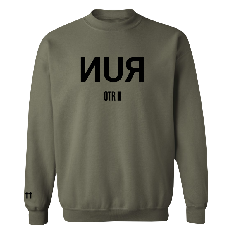 OTR II RUN CREWNECK SWEATSHIRT