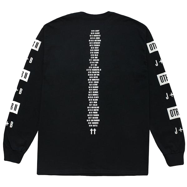 Black OTR II Tour Long Sleeve