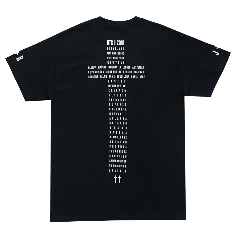 Black Admat Tour Tee