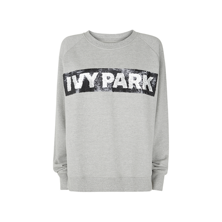 Sequin Logo Sweatshirt