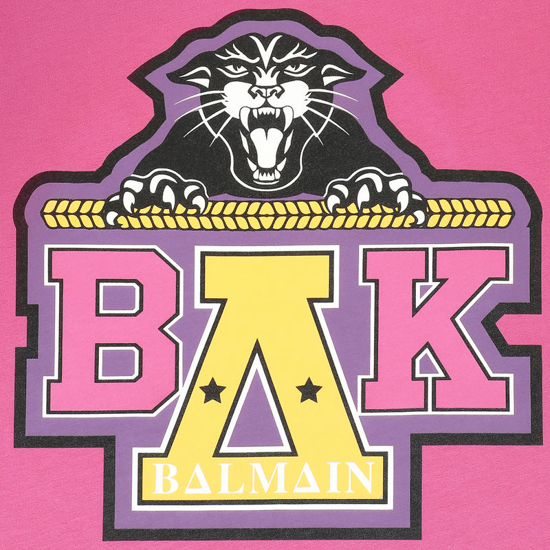 BALMAIN FOR BEYONCÉ Fuchsia T-Shirt