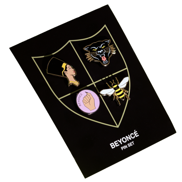 Homecoming Crest Pin Set