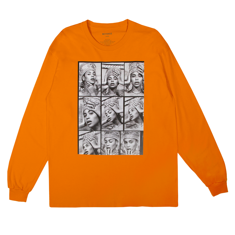 Nefertiti Contact Sheet Long Sleeve