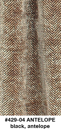 Antelope Herringbone Scarf - made to order