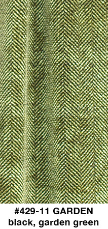 Garden Herringbone Scarf - made to order