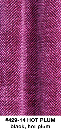 Hot Plum Herringbone Scarf - made to order