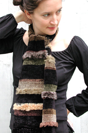 """CONTRA"" BOP HOT FUR SCARF"