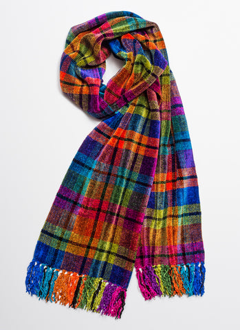 COSMOS Chenille Scarf - made to order