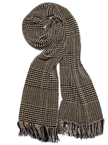 ATTITUDE Abstract Chenille Scarf - sold out