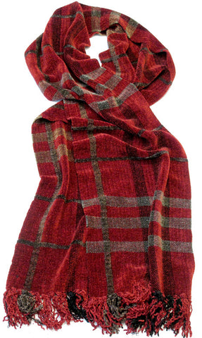 HERALD Chenille Scarf - sold out