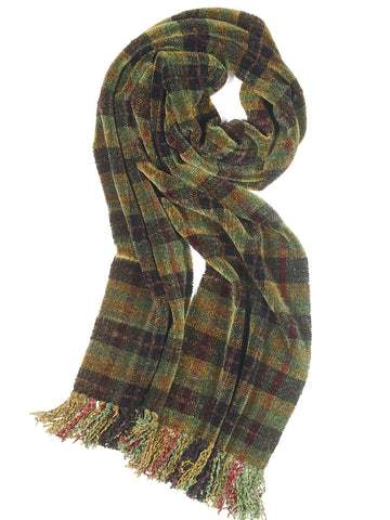 GLADES Nature Chenille Scarf