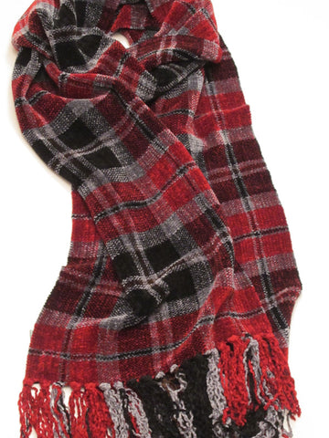 SIGNAL chenille scarf - sold out