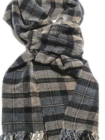 THINKER chenille scarf
