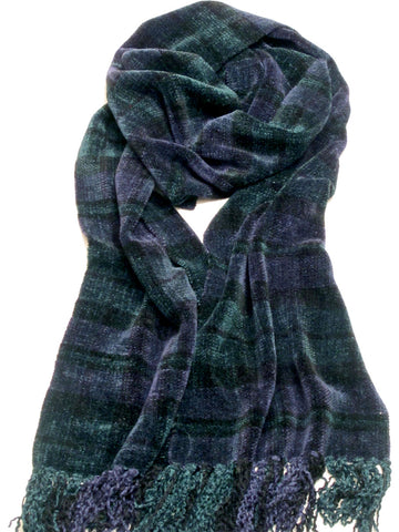 TOKEN Blackwatch Chenille Scarf - WEB SPECIAL