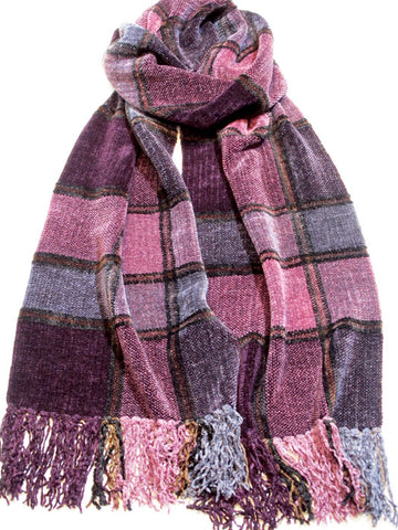DANCE Chenille Scarf  - sold out