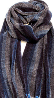 WAVES chenille scarf