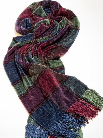TREASURE CHENILLE SCARF