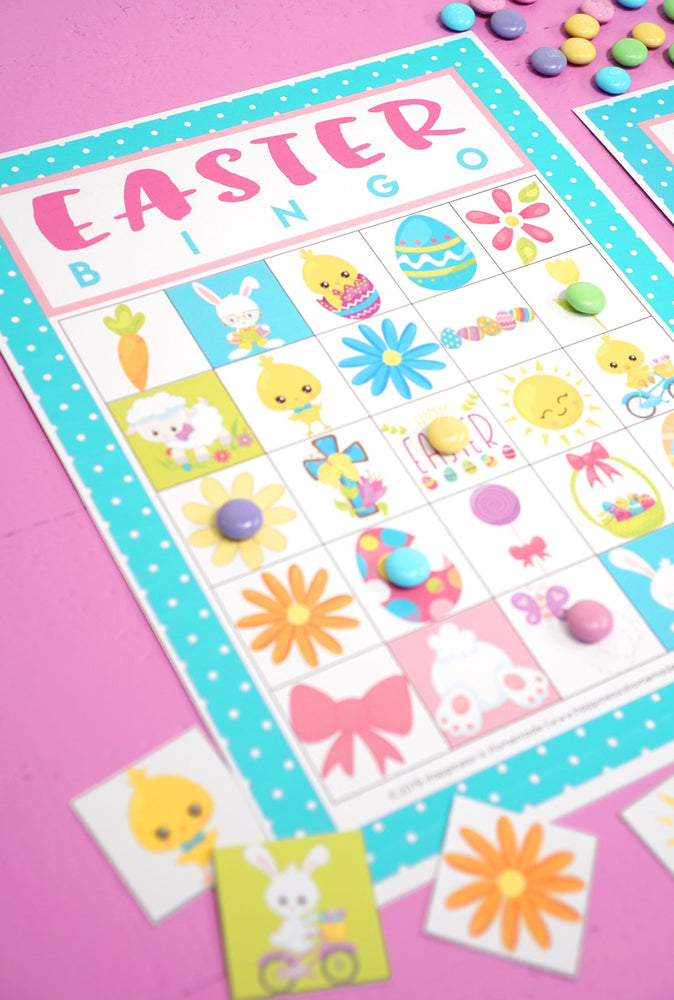 Easter Bingo Printable