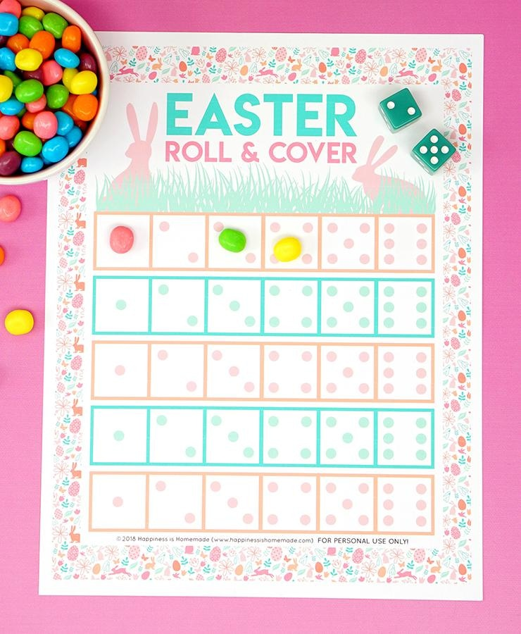 Easter Roll & Cover Game