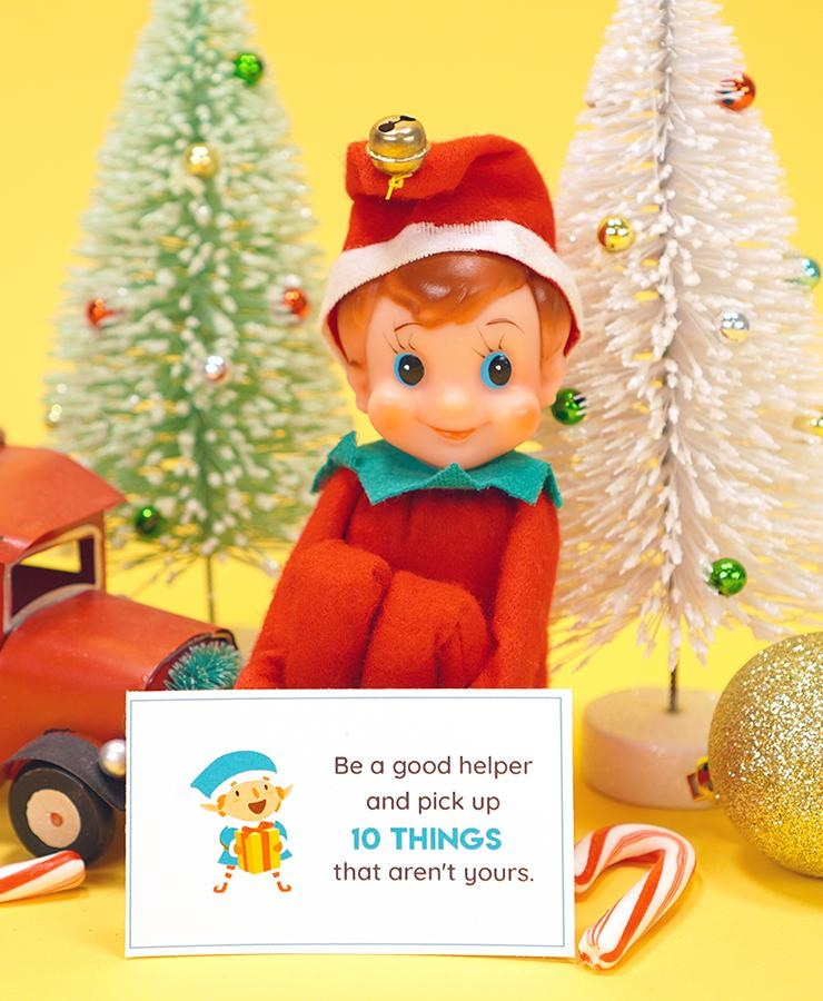 Elf on the Shelf Notes & Jokes