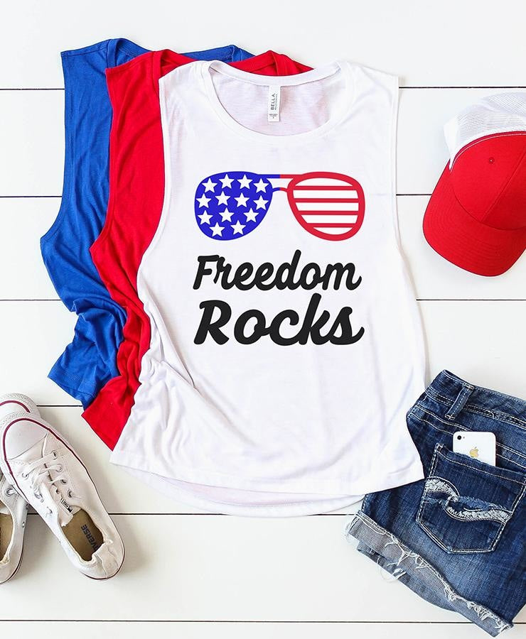 Freedom Rocks SVG