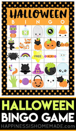Halloween Bingo Printable