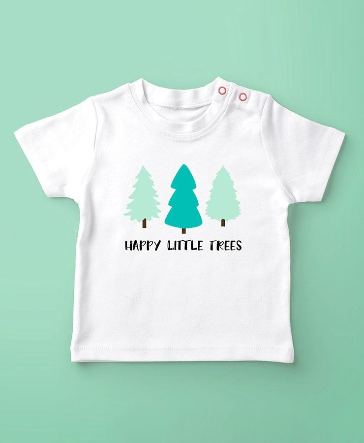 Happy Little Trees Svg Svg File