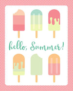 Hello Summer! Print Printable