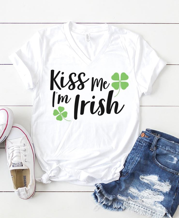 Kiss Me Im Irish SVG SVG File