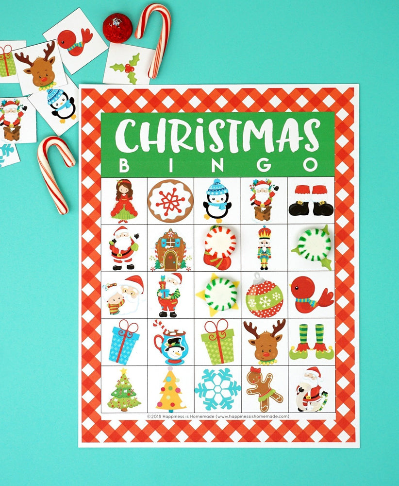 Mega Christmas Games & Activities Bundle Printable
