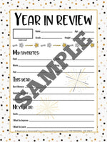 MEGA New Years Eve Games & Activities Bundle Printable