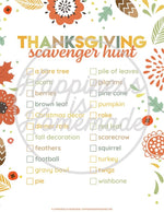 MEGA Thanksgiving Games & Activities Bundle