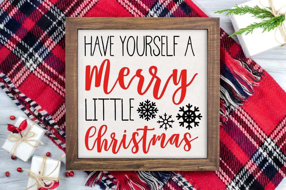 Merry Little Christmas Svg Svg File