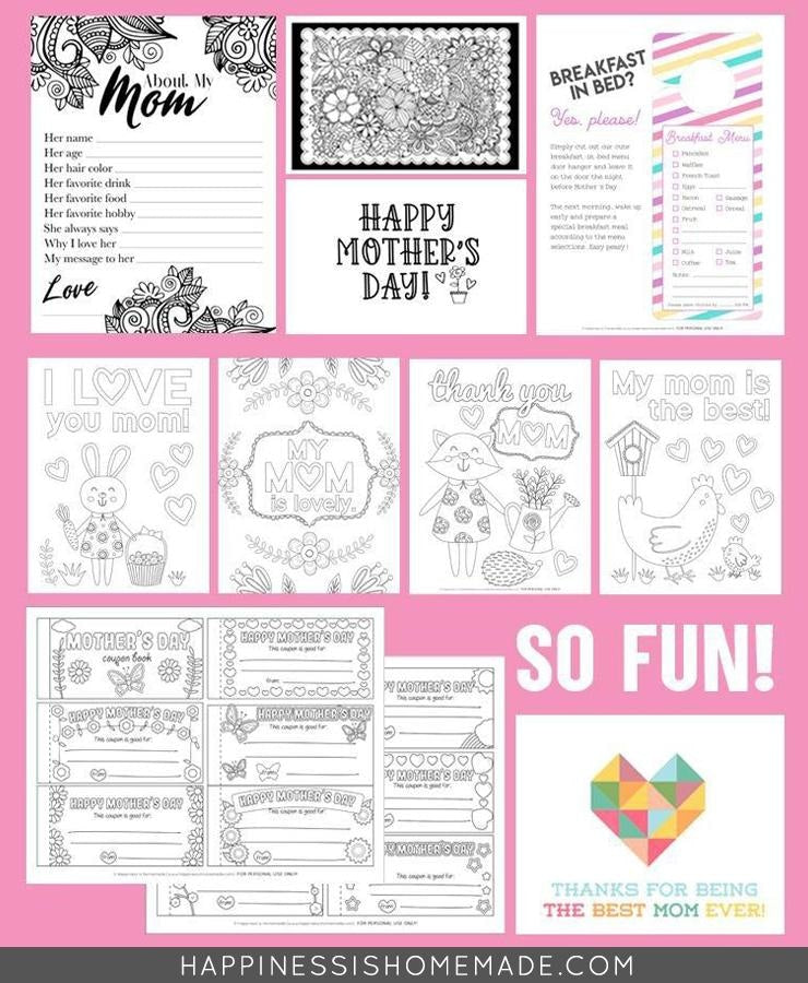 Mother's Day Activities Bundle