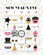 New Years Eve Bingo Printable