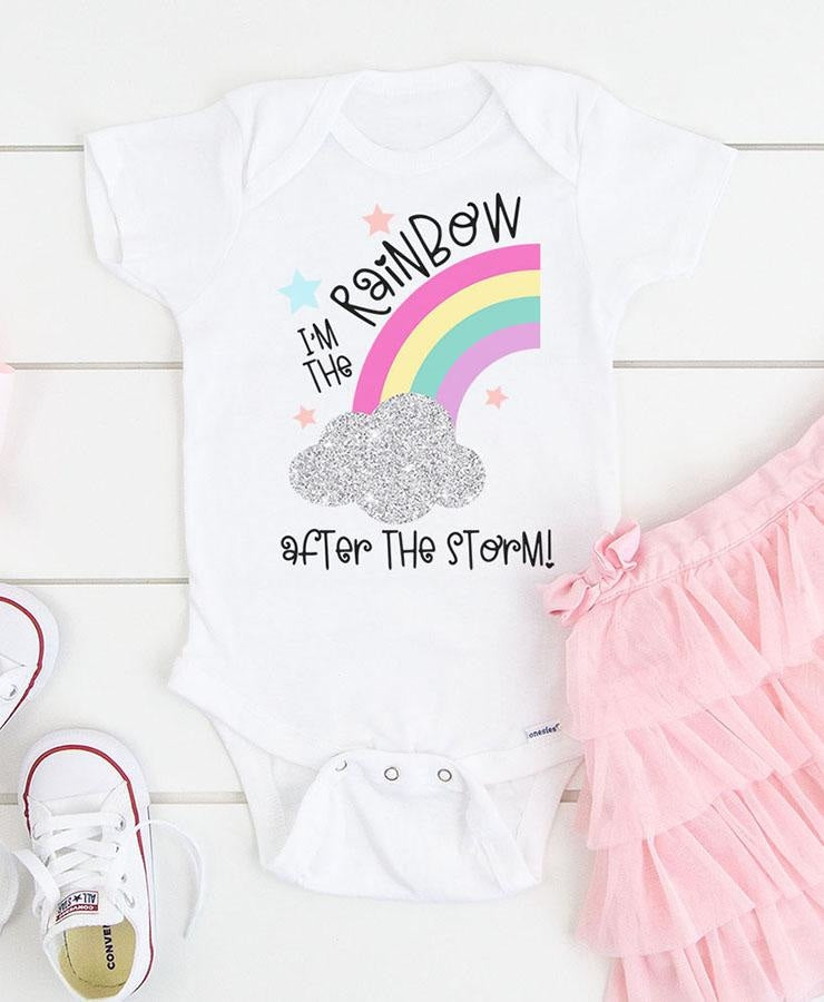 Rainbow Baby SVG Bundle