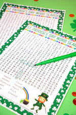St. Patricks Day Word Search Games