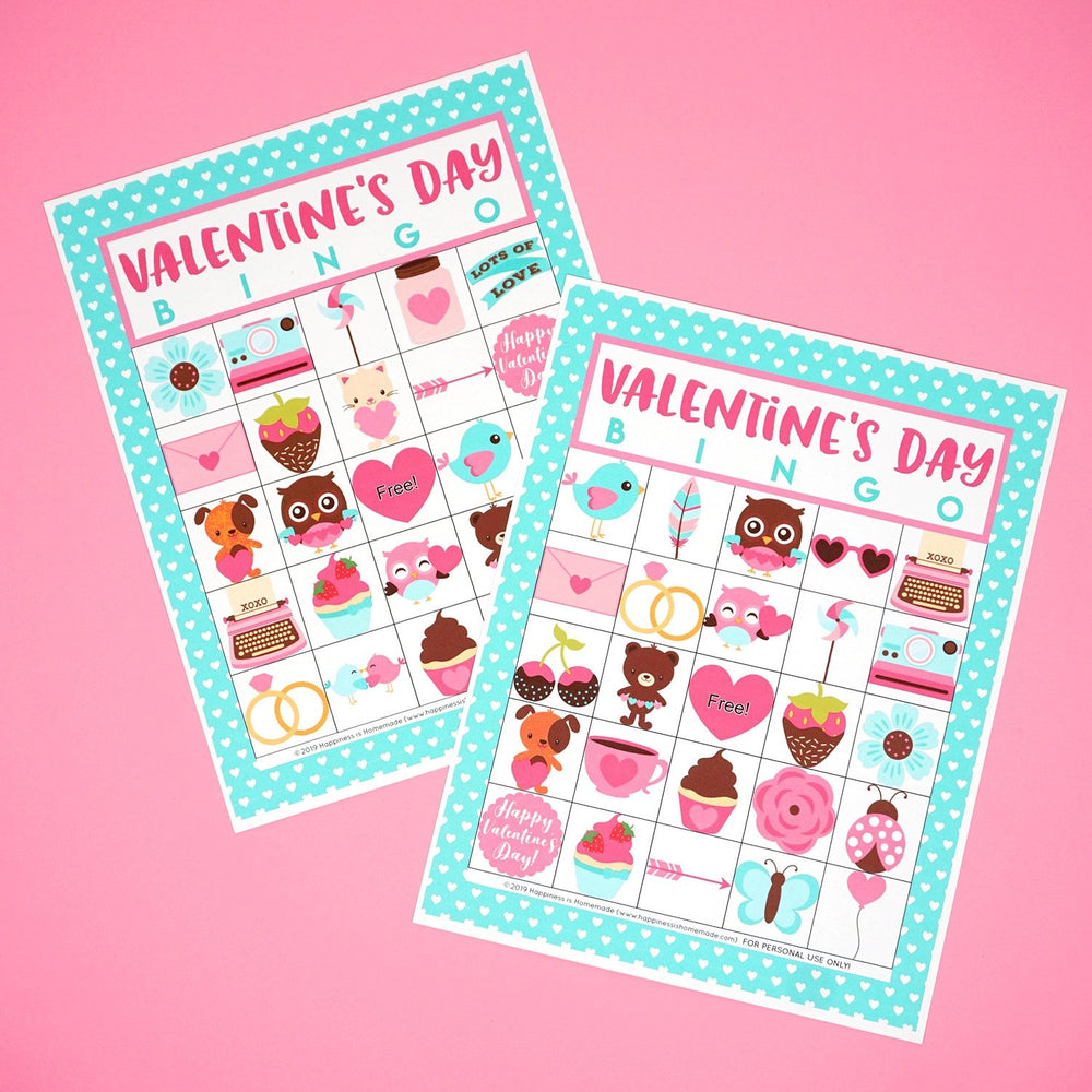 Valentines Day Bingo Printable
