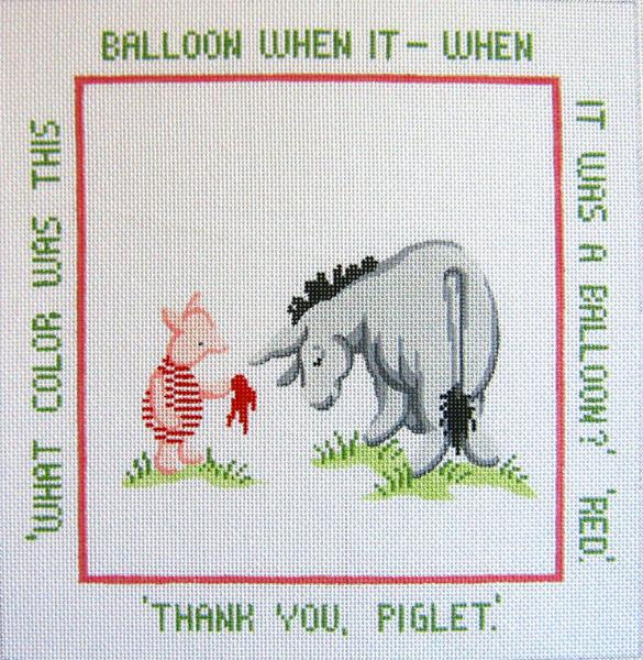Red Balloon Pillow